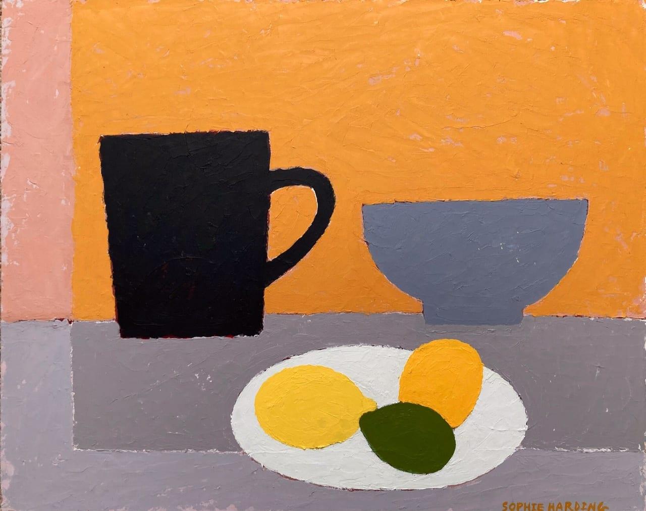 Citrus Still Life_Sophie Harding_The Art Buyer Gallery