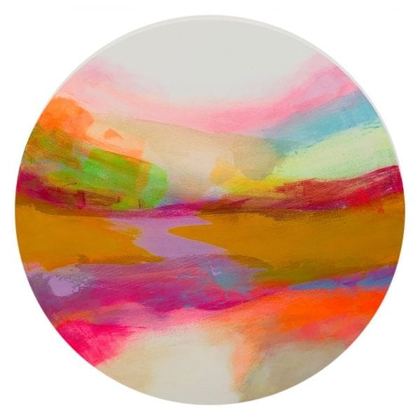 Lilac Tide Abstract Painting By Jane Wachman