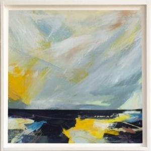 Artist Georgia Elliott_The Art Buyer Gallery_Untold Abstract Painting