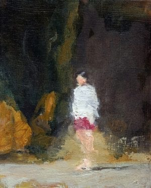 David Storey_The Art Buyer_Girl In Towel