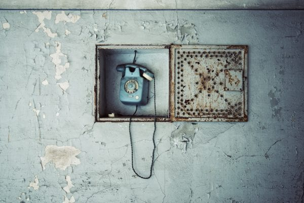 Phone in Asylum by Gina Soden The Art Buyer Gallery