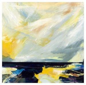 Georgia Elliott-Abstract Print- Untold