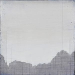 Susan Laughton Grey Landscape Painting_The Art Buyer Gallery