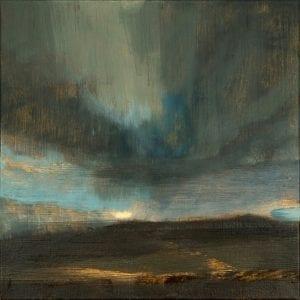Winter Sunset III_David Scott Moore_The Art Buyer Gallery