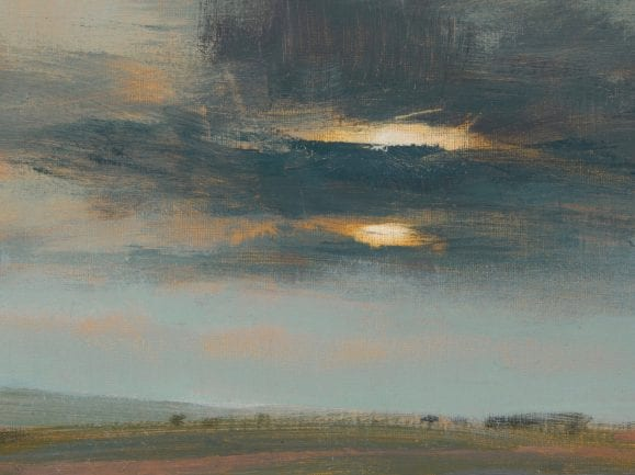 Moving Skies In Spring _David Scott Moore_The Art Buyer Gallery