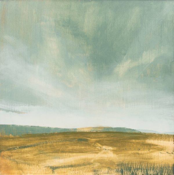 South Downs Spring Sunset_David Scott Moore_The Art Buyer Gallery