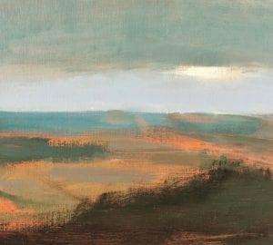 Mill Hill Autumn Sunset_David Scott Moore_The Art Buyer Gallery