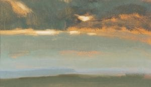 Moving Skies Spring Sunset_David Scott Moore_The Art Buyer Gallery