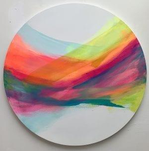 Skies at Dusk I_Jane Wachman_The Art Buyer Gallery