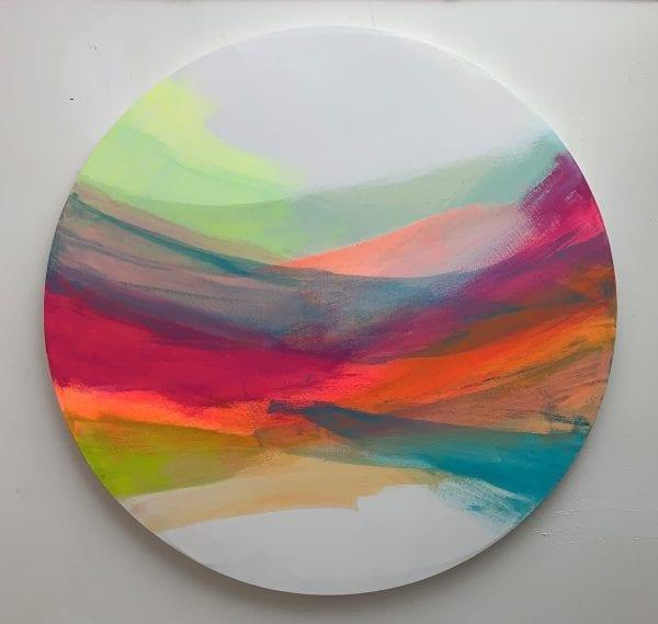 Skies at Dusk II_Jane Wachman_The Art Buyer Gallery