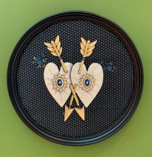 Double Heart and Arrows_Zara Merrick_The Art Buyer Gallery