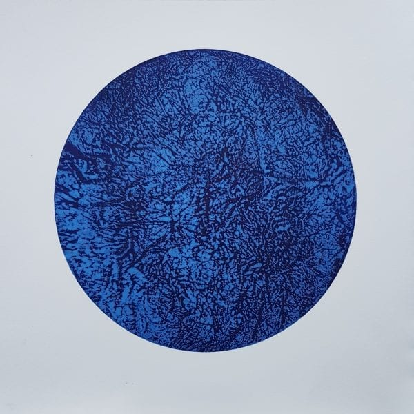 Encircled Blue_Dorothy Hanna_The Art Buyer Gallery