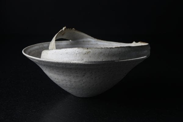 Wide Ragged_Ceramic_Clare Palmer_The Art Buyer Gallery