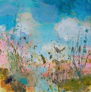 Blue Skies I_Sandy Dooley_The Art Buyer Gallery
