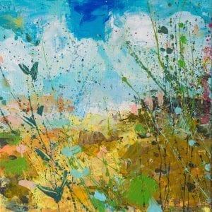 Blue Skies II_Sandy Dooley_The Art Buyer Gallery