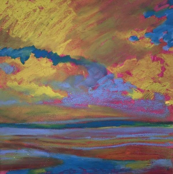 Clouds Mounts Bay_Julia Rowlands_The Art Buyer Gallery