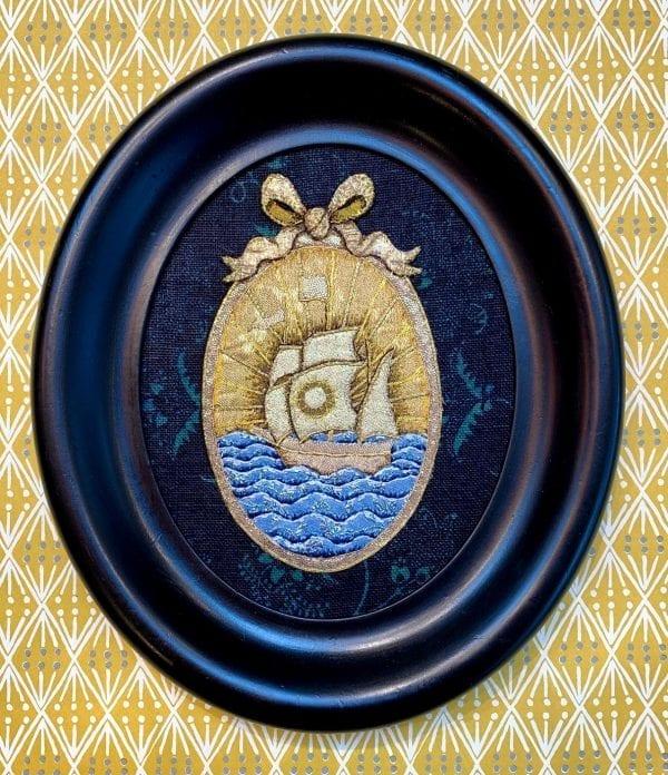 Golden Boat_Zara Merrik_The Art Buyer Gallery