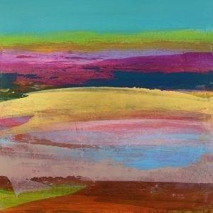 Golden Waters_Jane Wachman_The Art Buyer Gallery