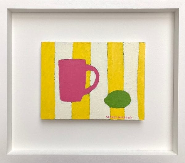 Pink Cup and Lime_Sophie Harding_The Art Buyer Gallery