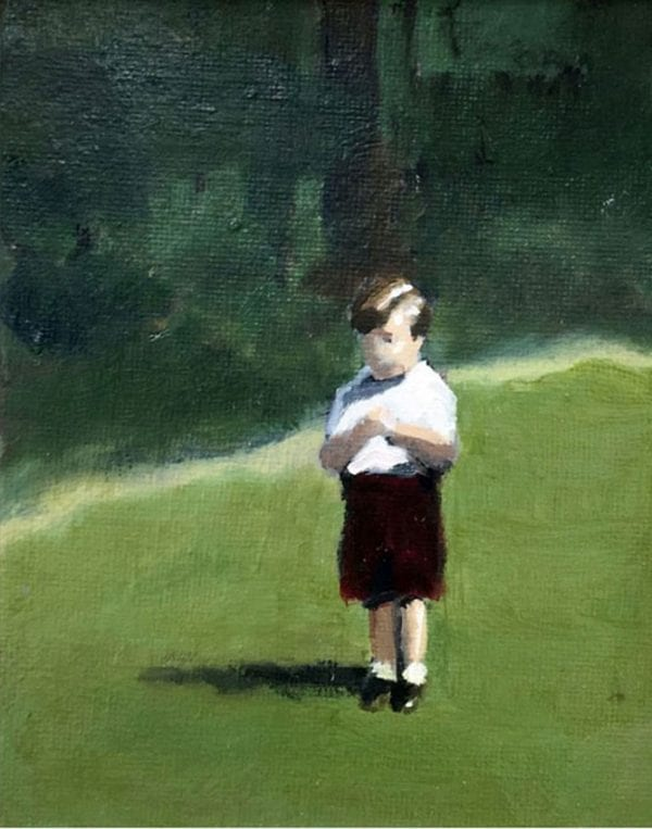 Small Boy_David Storey_The Art Buyer Gallery