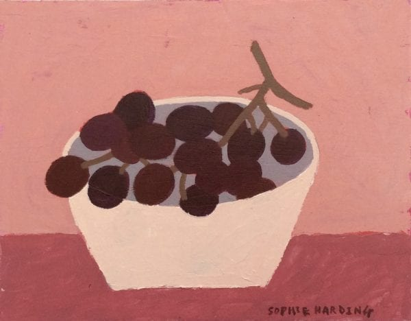 Bowl of Grapes_Sophie Harding_The Art Buyer Gallery