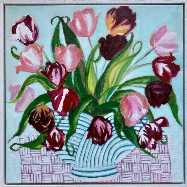 Joy of Tulips_Tia and Maria Fletcher_The Art Buyer Gallery