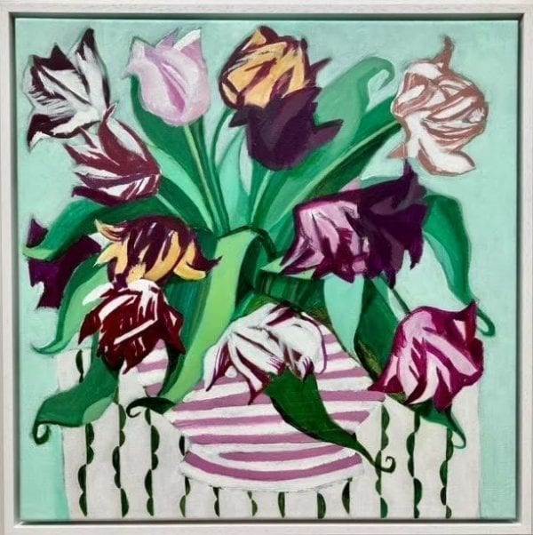 Glorious Tulips_Lia and Maria Fletcher_The Art Buyer Gallery
