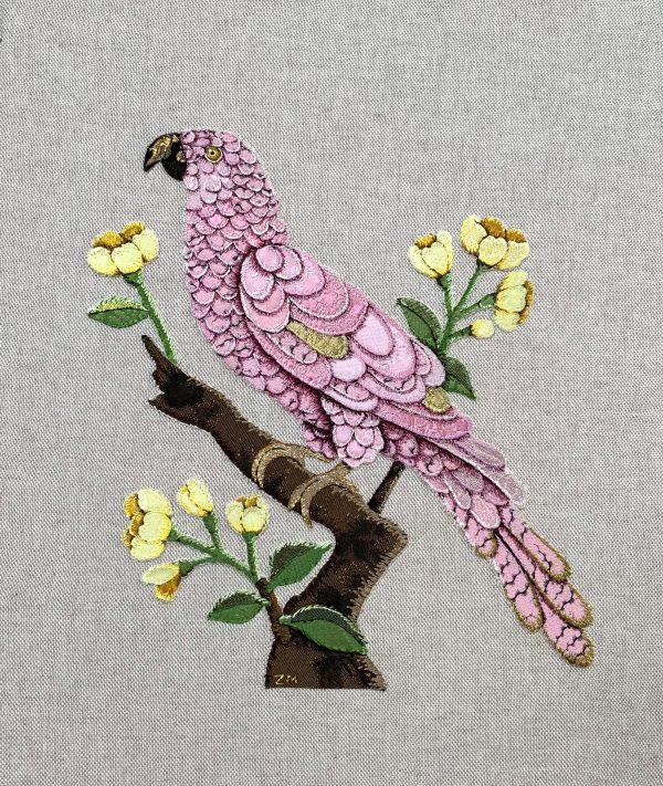 Pink Bird_Zara Merrick_The Art Buyer Gallery
