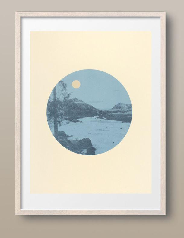 Moon Over The Plain_Sherrie Leigh Jones_The Art Buyer Gallery