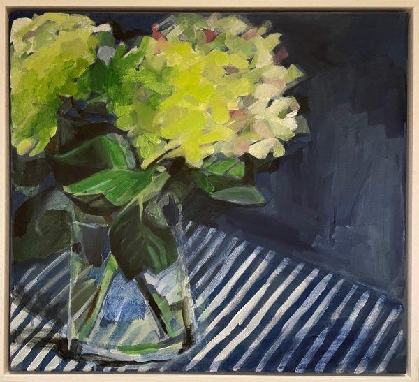 Green Hydrangeas by Maria and Lia Fletcher _The Art Buyer Gallery