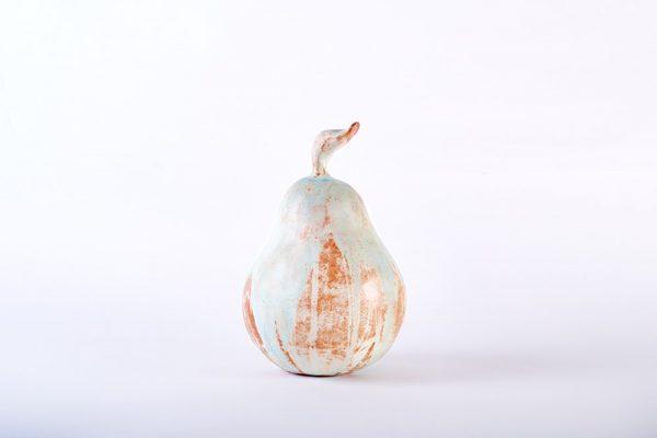 Medium Pear_ Pear Sculpture_Cathy Outen_The Art Buyer Gallery