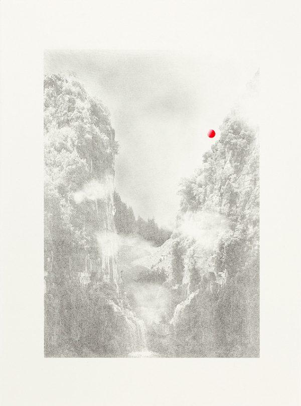 Falls At Dusk_Sherrie-Leigh Jones_The Art Buyer Gallery