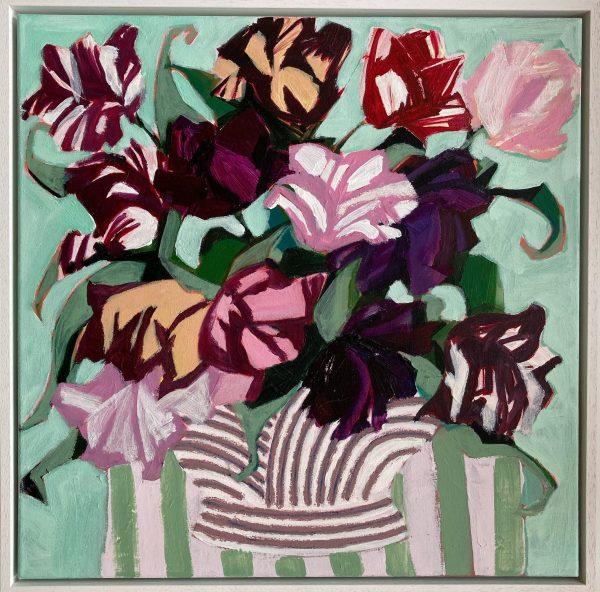 Velvet Tulips_Lia and Maria Fletcher_The Art Buyer Gallery